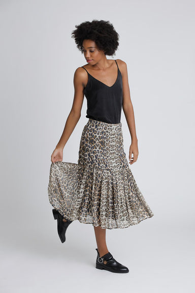 Leo skirt with volant