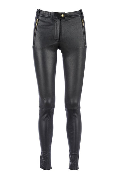 Pant with zipper pockets