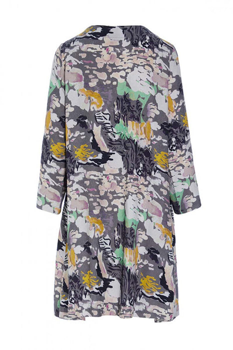 DRESS WATERCOLOR VISCOSE