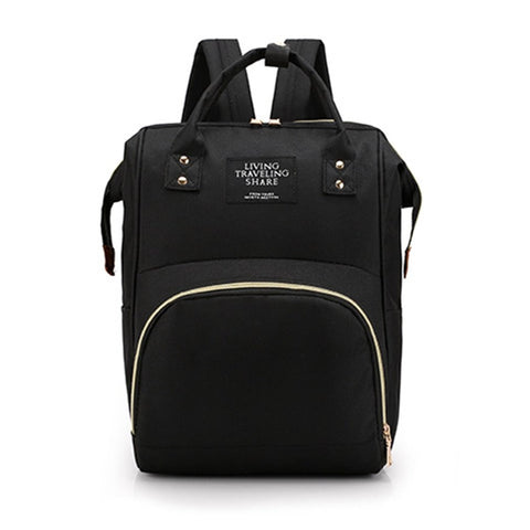 Image of Deluxe maternity backpack and messenger bags