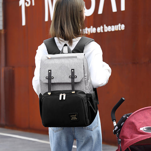Lynda USB diaper Backpack bags