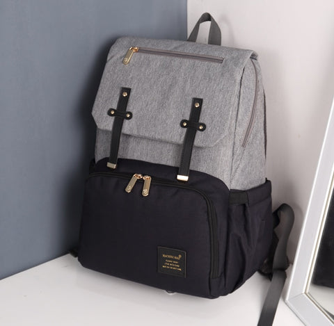 Image of Lynda USB diaper Backpack bags