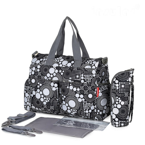 Image of Waterproof Large capacity Diaper Bag Dove