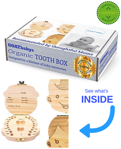Tooth Box Organizer & lifetime memory keeper