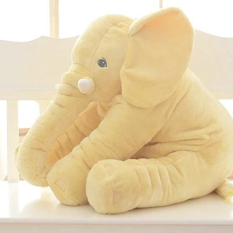 Image of Soft plush Elephant pillow doll