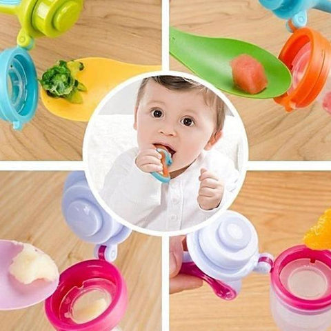Image of Baby Food Pacifier
