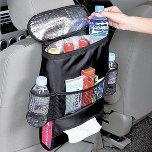 Baby items car chair organizer