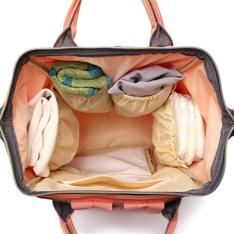 Image of Stylish maternity bag Coral