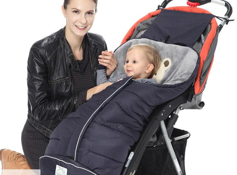 Image of Winter Baby Sleeping Bag For Stroller