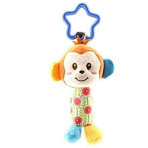 Mobile stroller or gym hangable soft toy