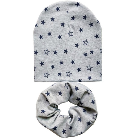 Image of Baby Beanie Hat & Scarf set