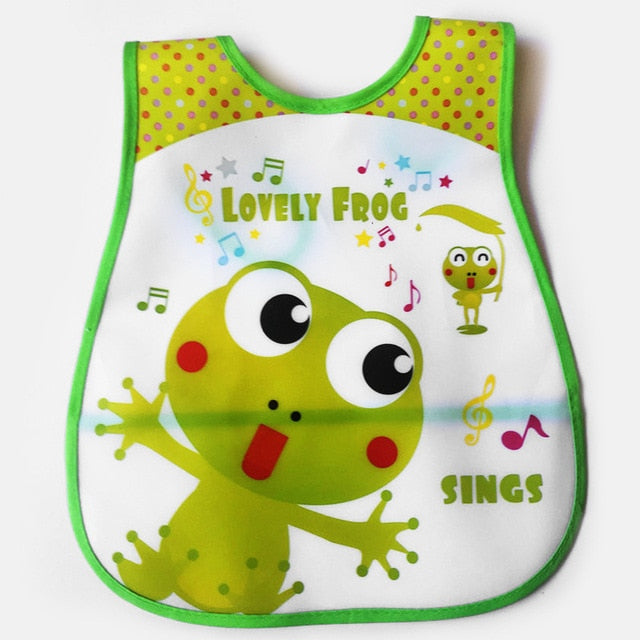 Large Waterproof Feeding Apron Bibs