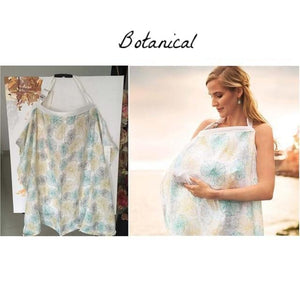 Botanical Muslin Nursing Cover