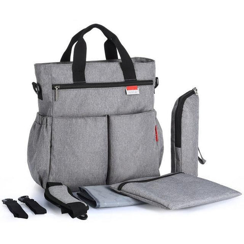 Image of Deluxe Large capacity Messenger Diaper Bag