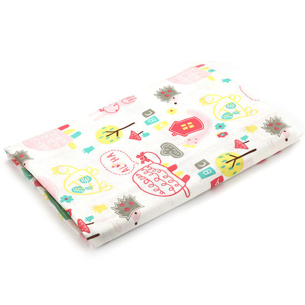 Elephant Collection Cotton Muslin Baby Soft  Swaddles