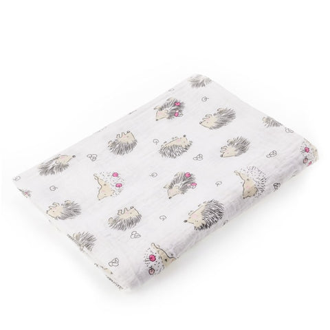 Image of Pineapple Collection Cotton Muslin Baby Soft  Swaddles