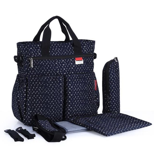 Deluxe Large capacity Messenger Diaper Bag