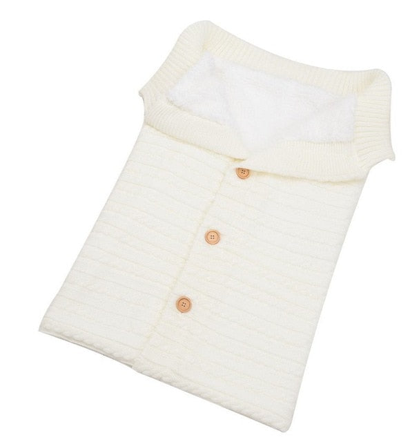 Knitted Cotton Baby Sleeping Bag