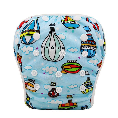 Image of Baby Waterproof Reusable Swimming Diapers