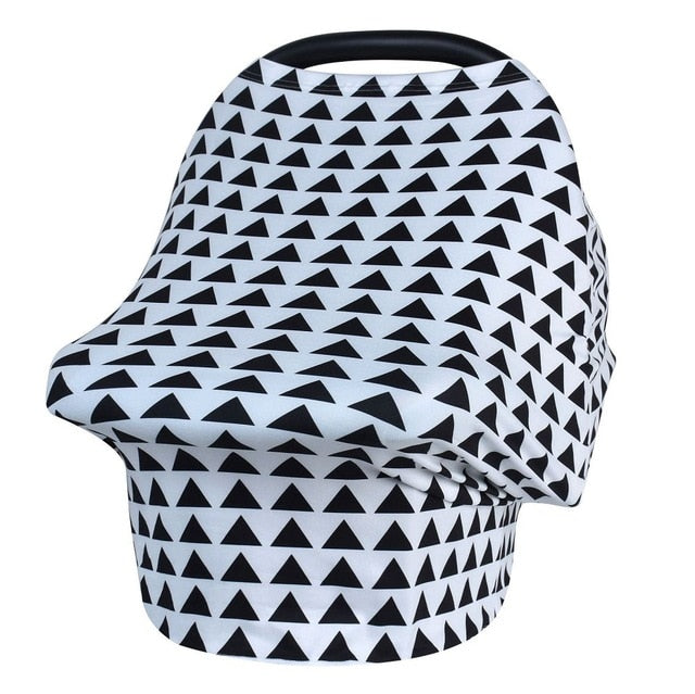 Patterns Collection Nursing Cover & Car Seat Cover