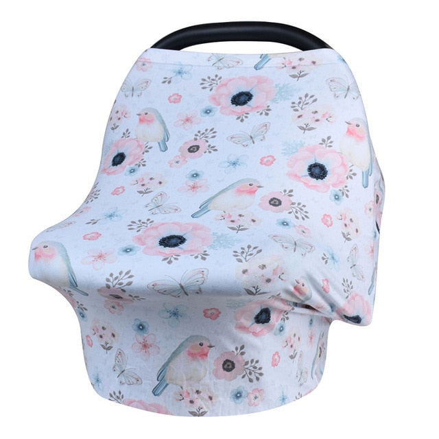 Fox Collection Nursing Cover & Car Seat Cover