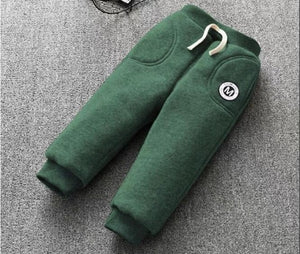 Warm Cutie Green Winter Pants