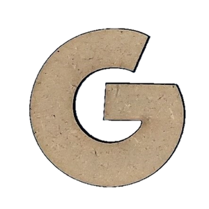 Wood Letters - ''G'' (Two Pack)