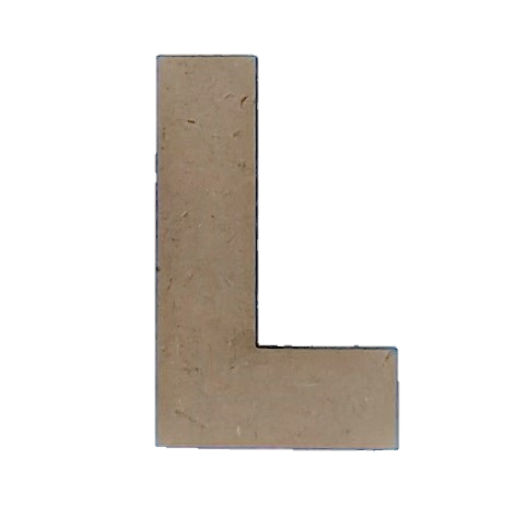 Wood Letters - ''L'' (Two Pack)