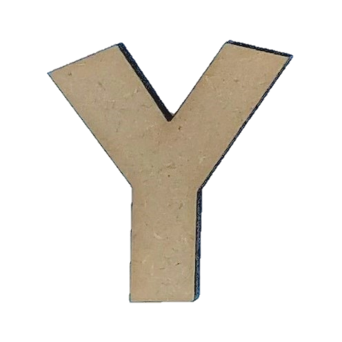 Wood Letters - ''Y'' (Two Pack)