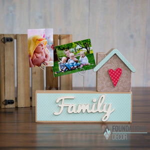 Picture Holder - Family Complete Set