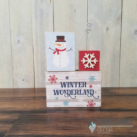 January Place Card Holder