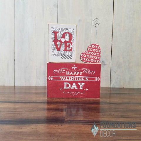 Valentines Card Holder