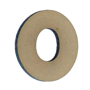 Wood Numbers - ''0'' (Two Pack)