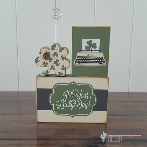 Shamrock Card Holder