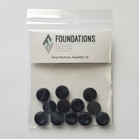 Buttons - Black Small