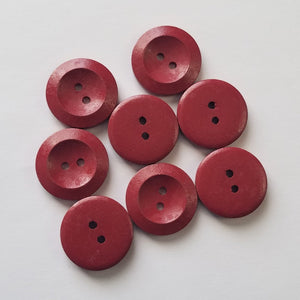 Buttons - Red Large