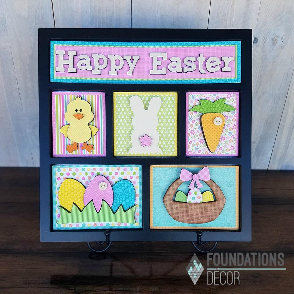 Easter Shadow Box Kit