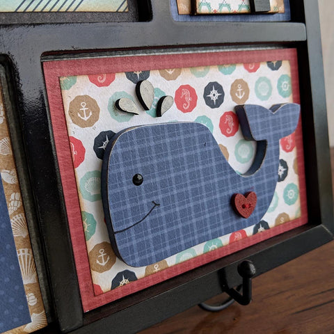 Sail the Seas Shadow Box Kit