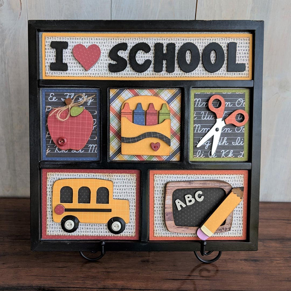 School Shadow Box Kit