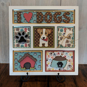 I Love Dogs Shadow Box Kit
