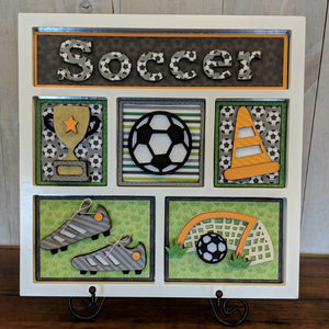 Soccer Shadow Box Kit