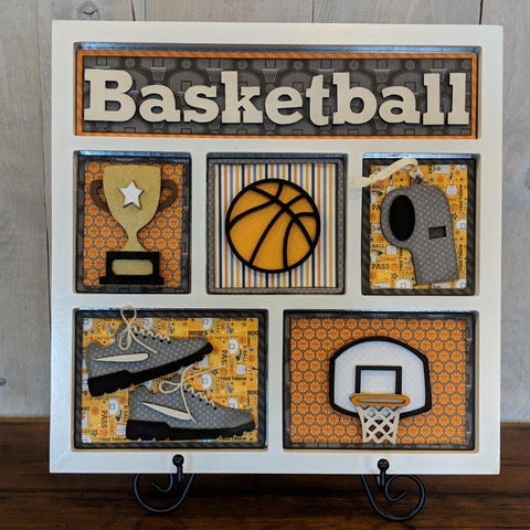 Basketball Shadow Box Kit