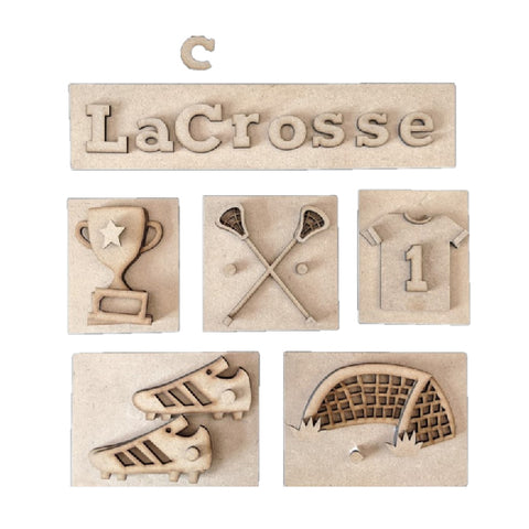 Lacrosse Shadow Box Kit