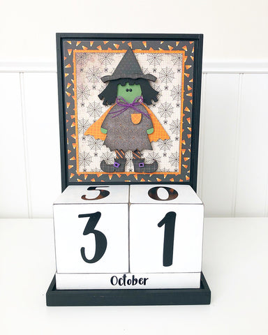 Block Countdown - October / Halloween