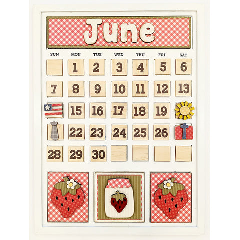 Magnetic Calendar - June