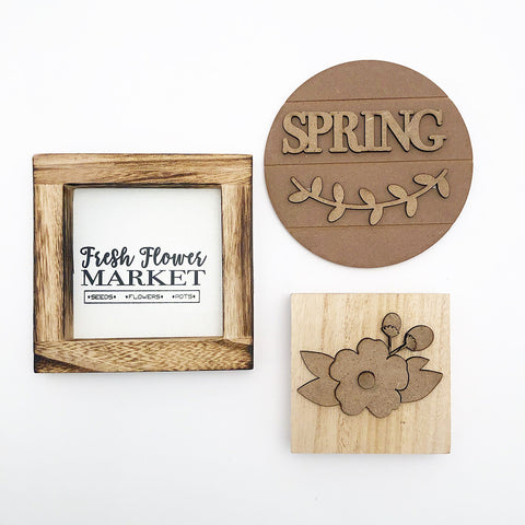 Tray - Apr Kit (Flower Market Frame, Spring, Flower)