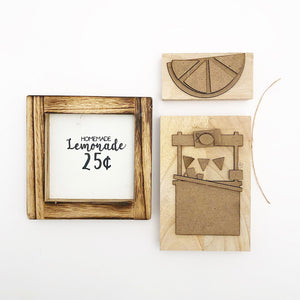 Tray - Aug Kit (Lemonade in Frame, Stand, Wedge)