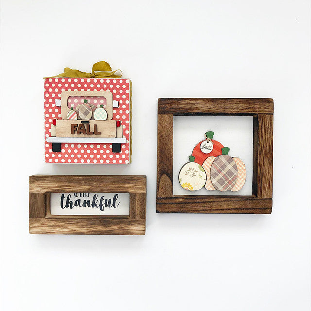 Tray - Nov Kit (Pumpkins Frame, Thankful Frame, Truck)