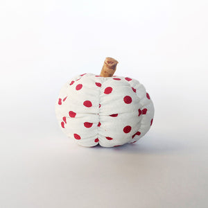 Tray Decor - Orange Spice Polka Dot Pumpkin