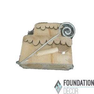 Birthday Cake Card Holder